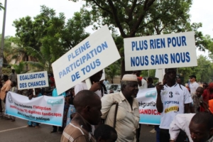 Protest Mali