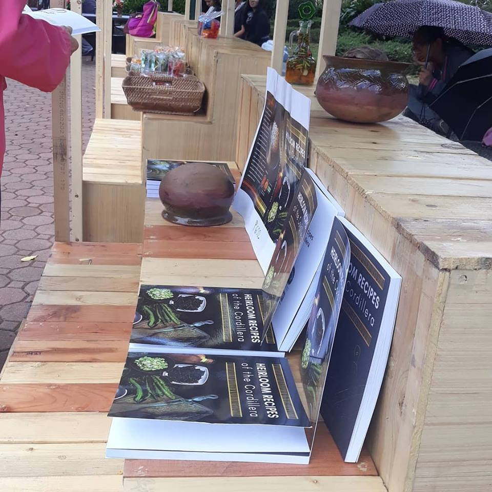 Heirloom Recipes of the Cordillera book public engagement day