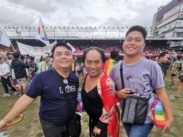 Gayon, Inc. enjoying 2019 Pride March