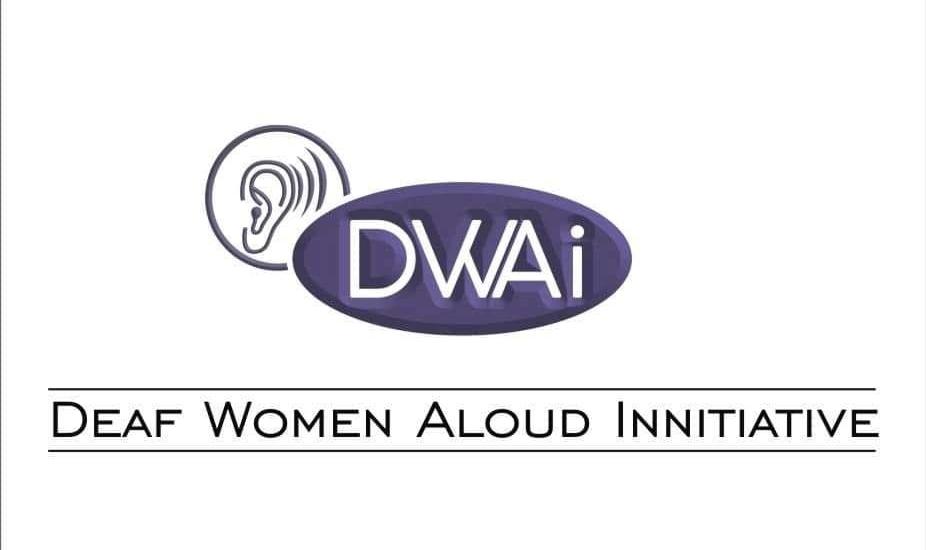 Deaf Women Aloud Initiative (DWAI) logo