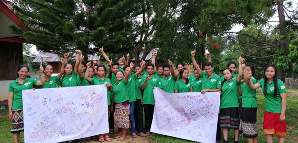 Grantees from Laos team