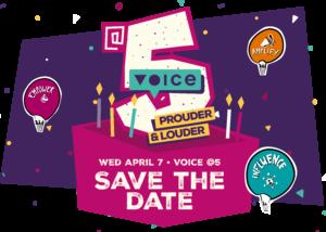 Plan de fête de VoiceAt5!